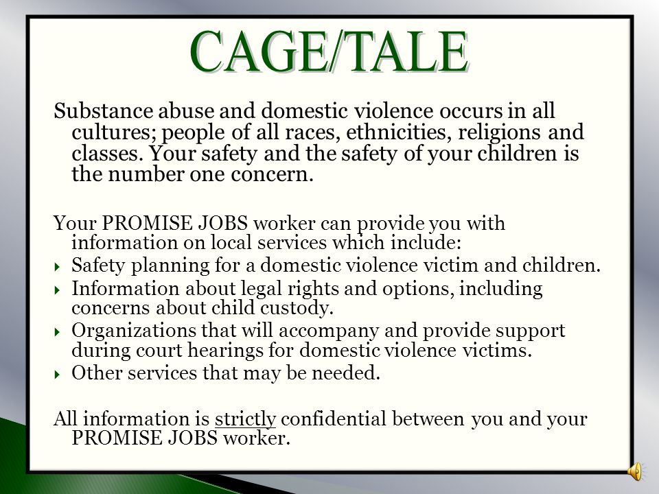CAGE/TALE