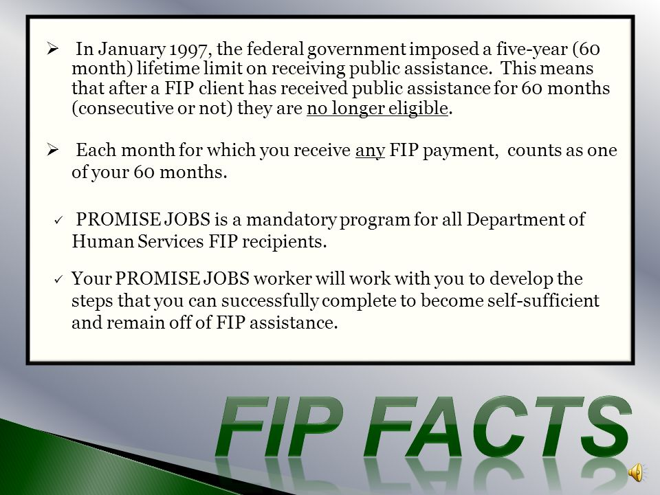In January 1997, the federal government imposed a five-year (60