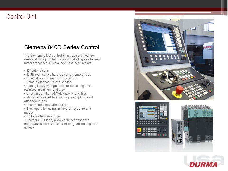 Siemens 840D Series Control