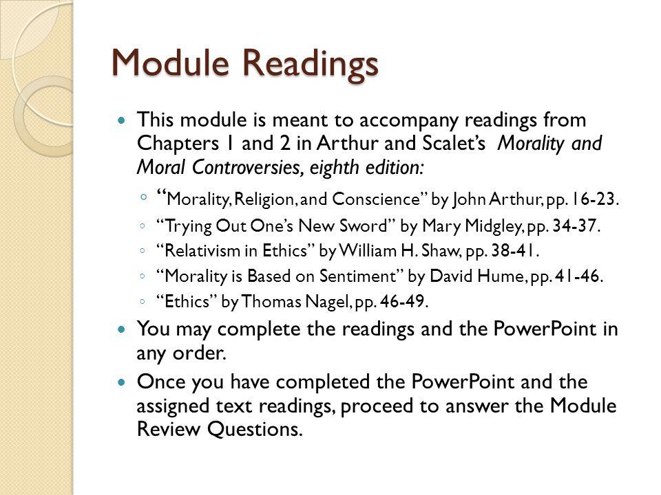 Module Readings