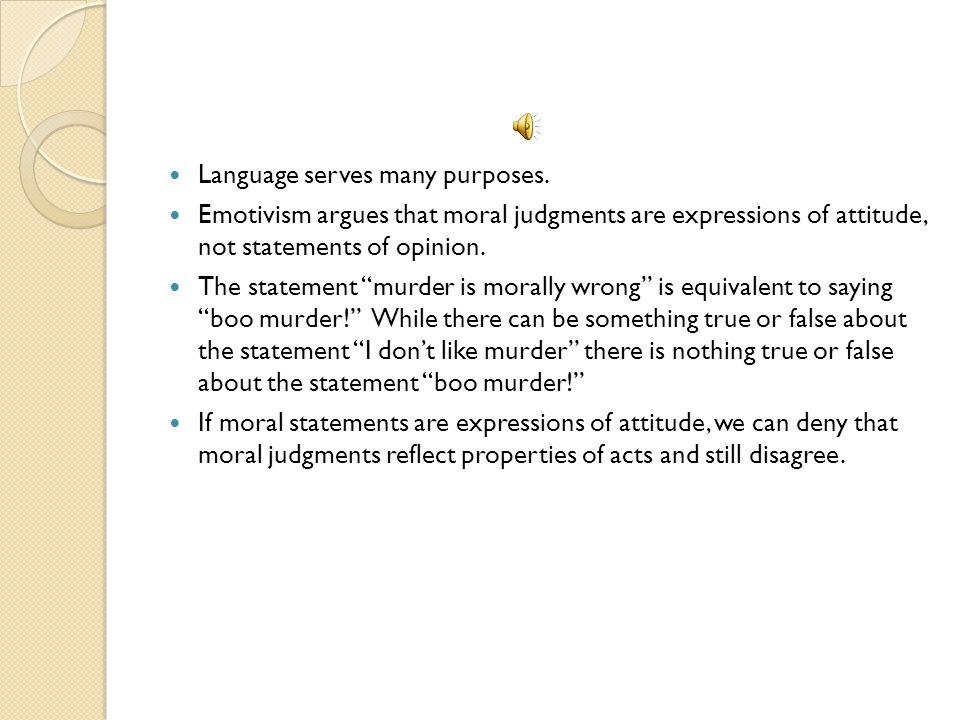 Language serves many purposes.