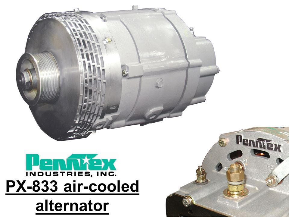 PX-833 air-cooled alternator