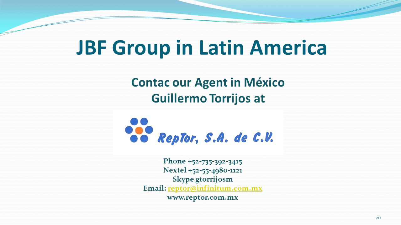 JBF Group in Latin America
