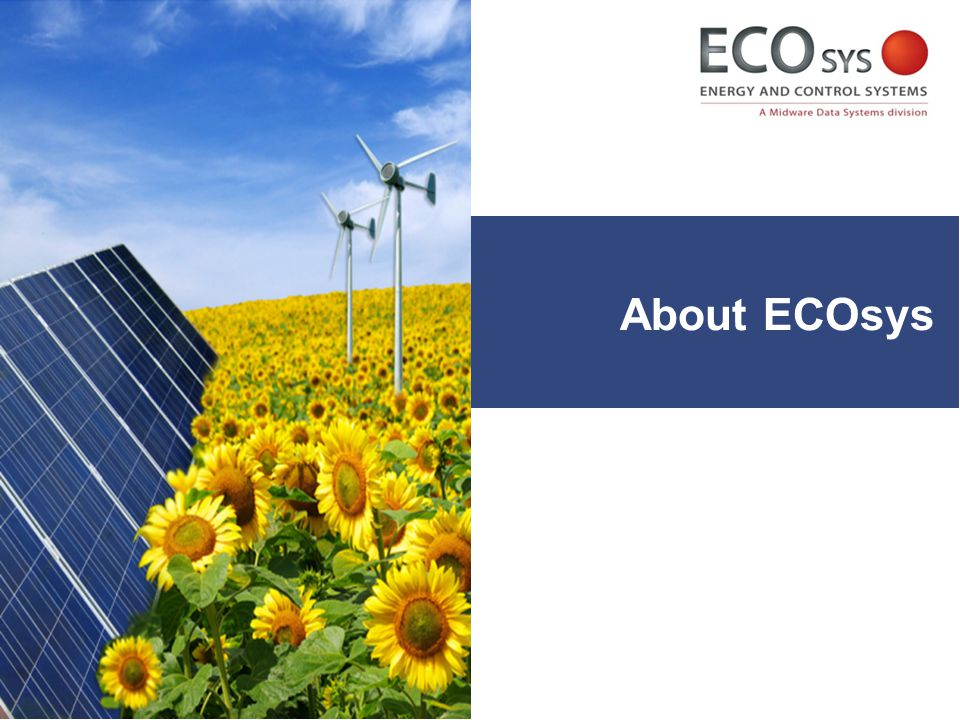 About ECOsys