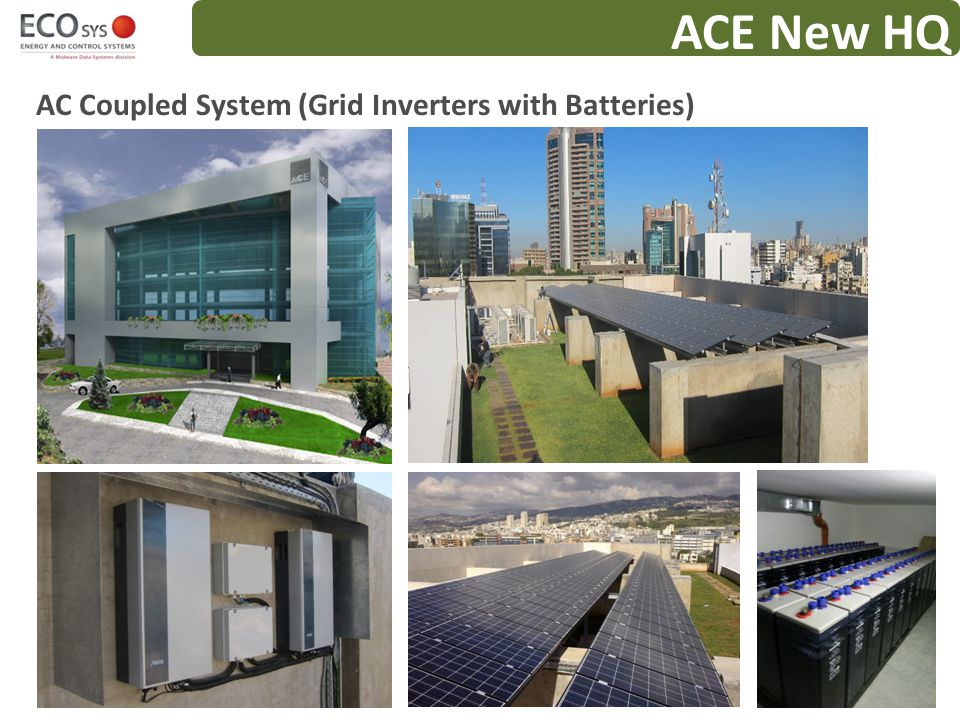 ACE New HQ AC Coupled System (Grid Inverters with Batteries)