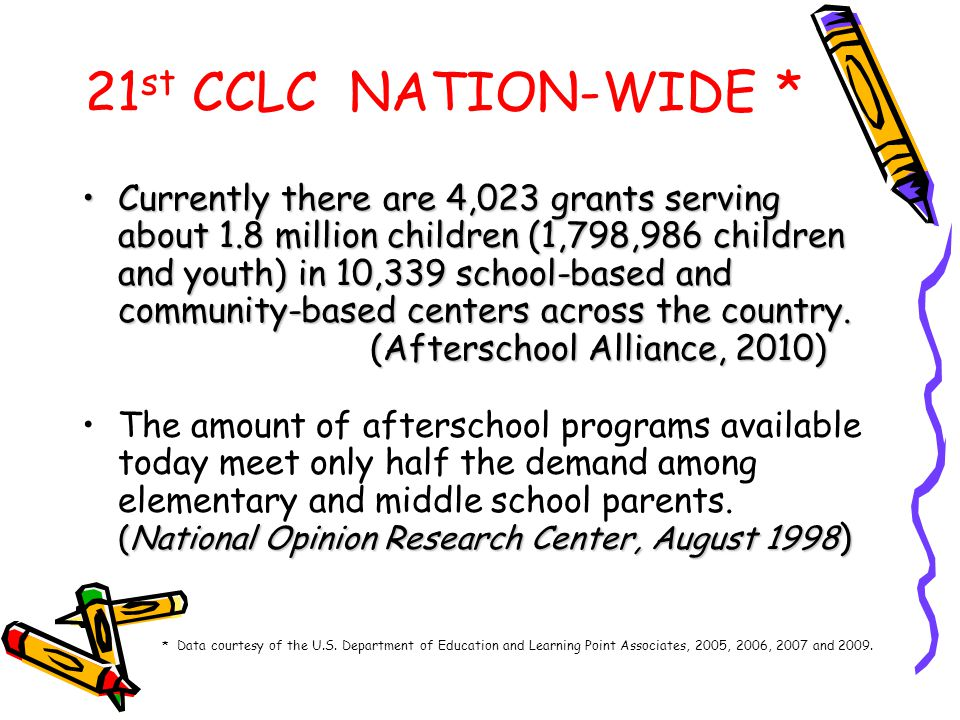 21st CCLC NATION-WIDE *