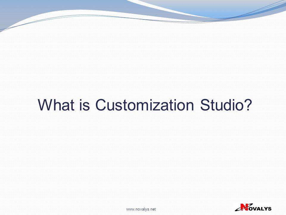 What is Customization Studio
