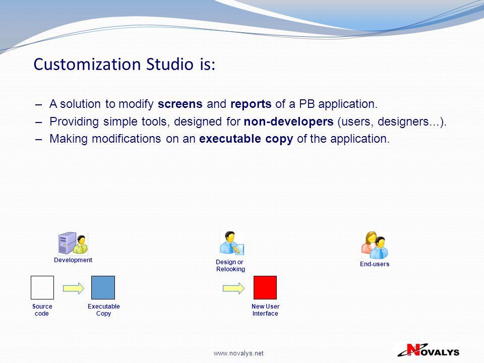 Customization Studio is: