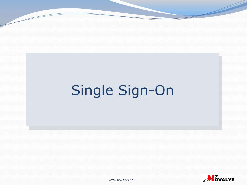 Single Sign-On 28
