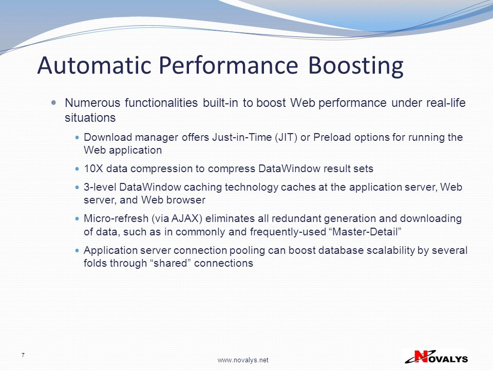 Automatic Performance Boosting