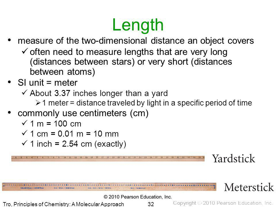 Length measure of the two-dimensional distance an object covers