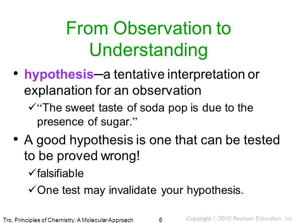 From Observation to Understanding