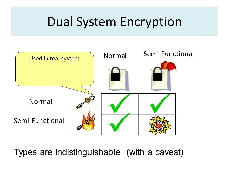 Dual System Encryption