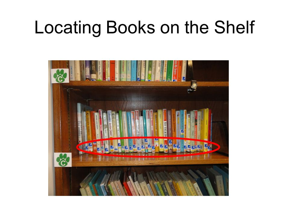 Locating Books on the Shelf