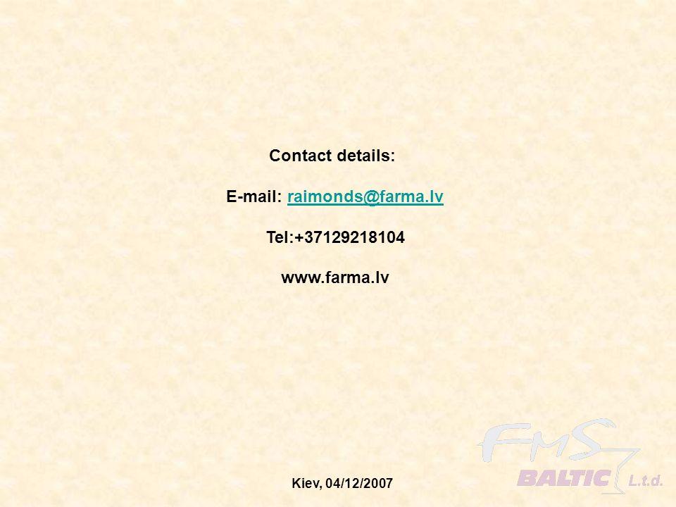 E-mail: raimonds@farma.lv