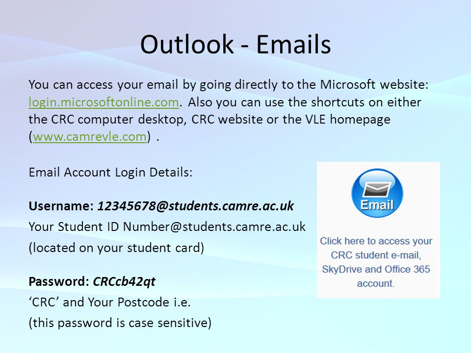Outlook - Emails