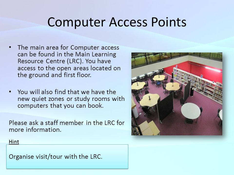 Computer Access Points