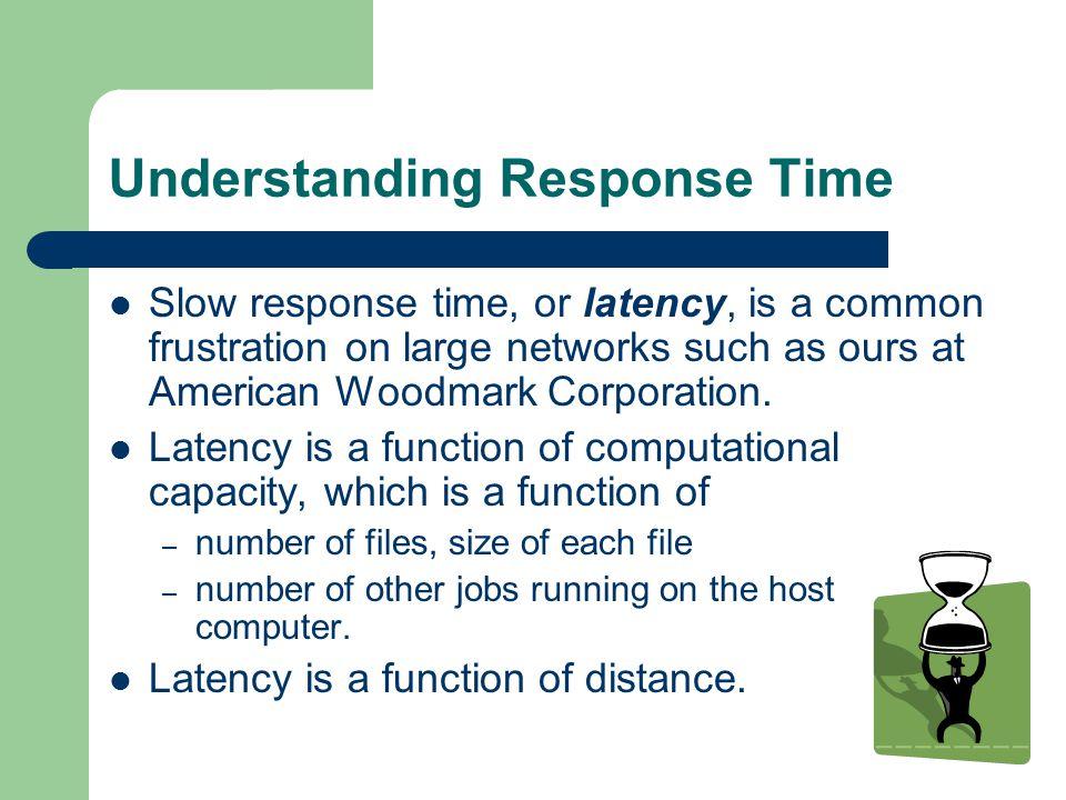 Understanding Response Time