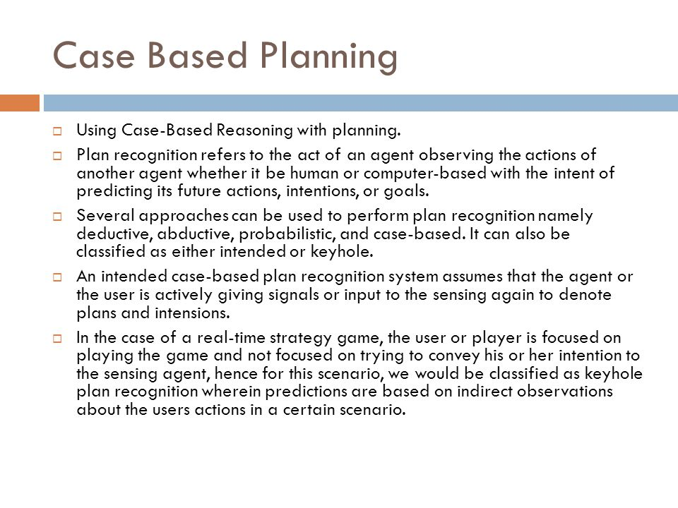 Case Based Planning Using Case-Based Reasoning with planning.