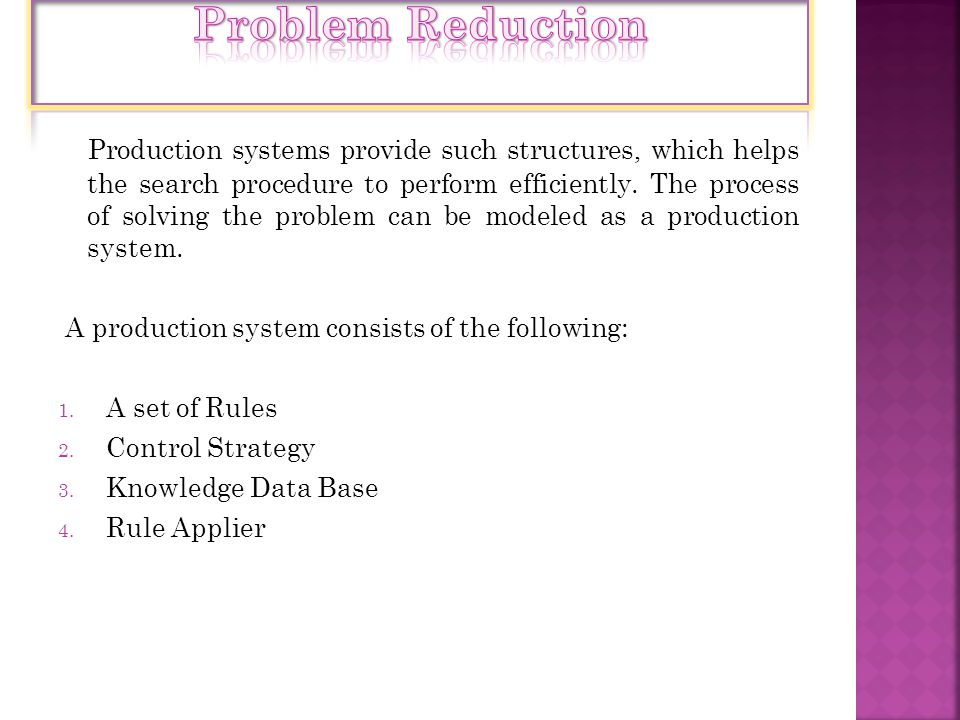 Problem Reduction