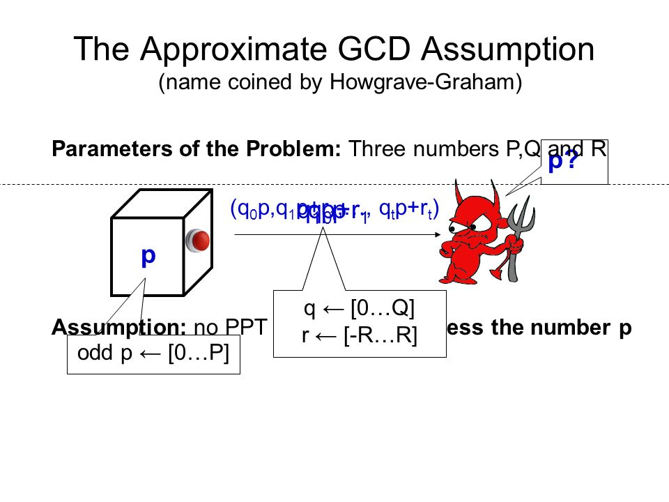 The Approximate GCD Assumption
