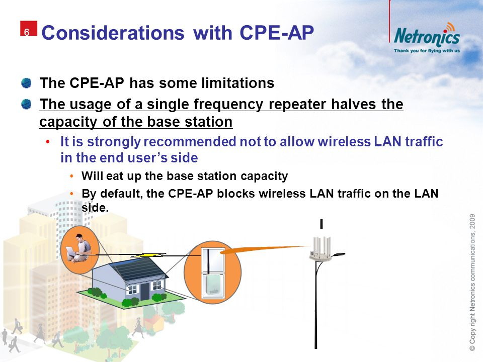Considerations with CPE-AP