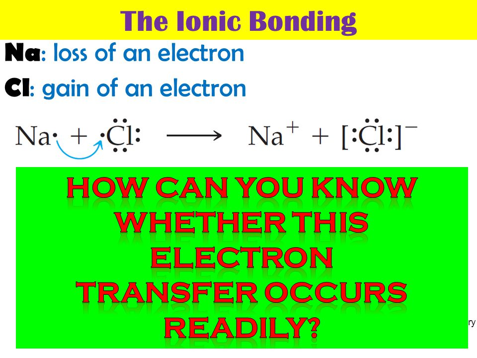 transfer occurs readily