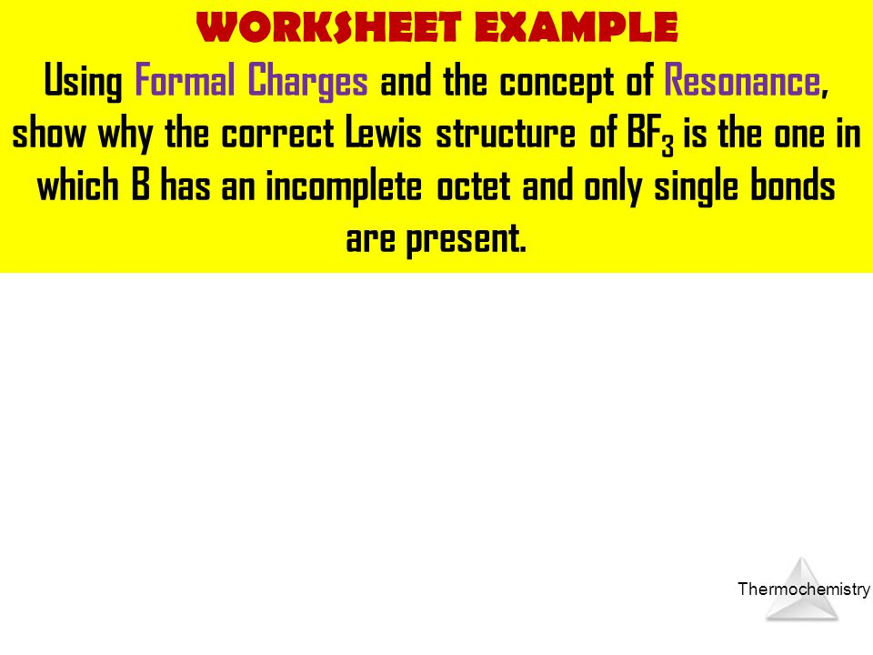WORKSHEET EXAMPLE
