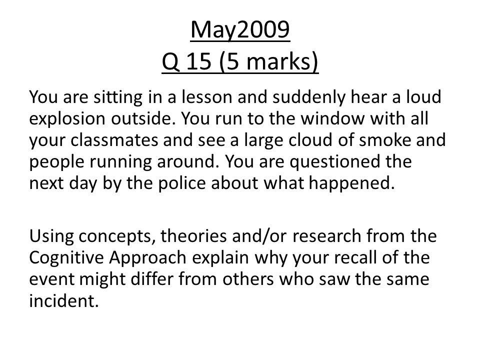 May2009 Q 15 (5 marks)