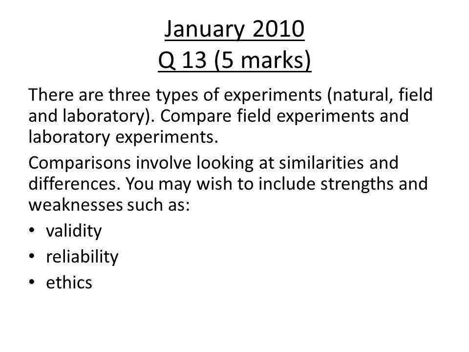 January 2010 Q 13 (5 marks)