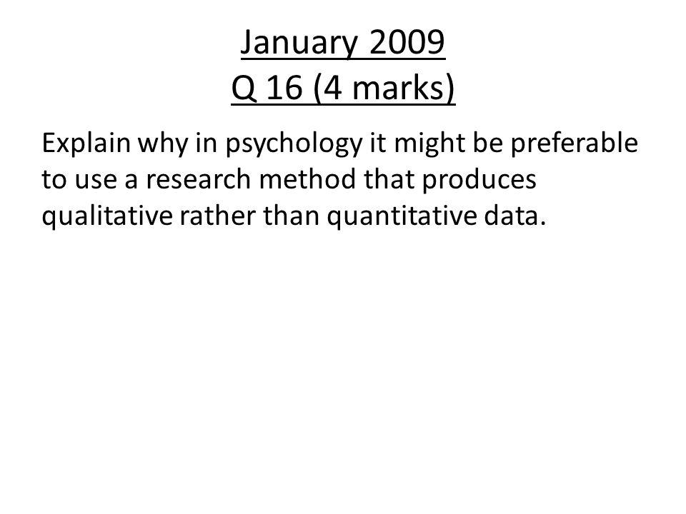 January 2009 Q 16 (4 marks)