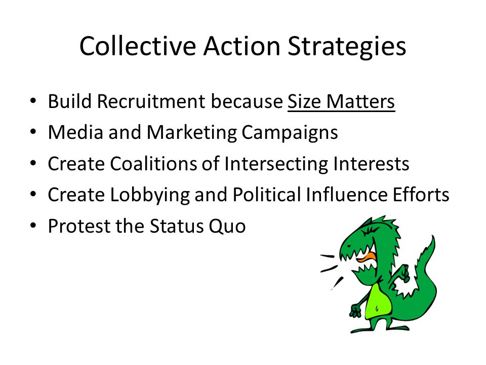 Collective Action Strategies