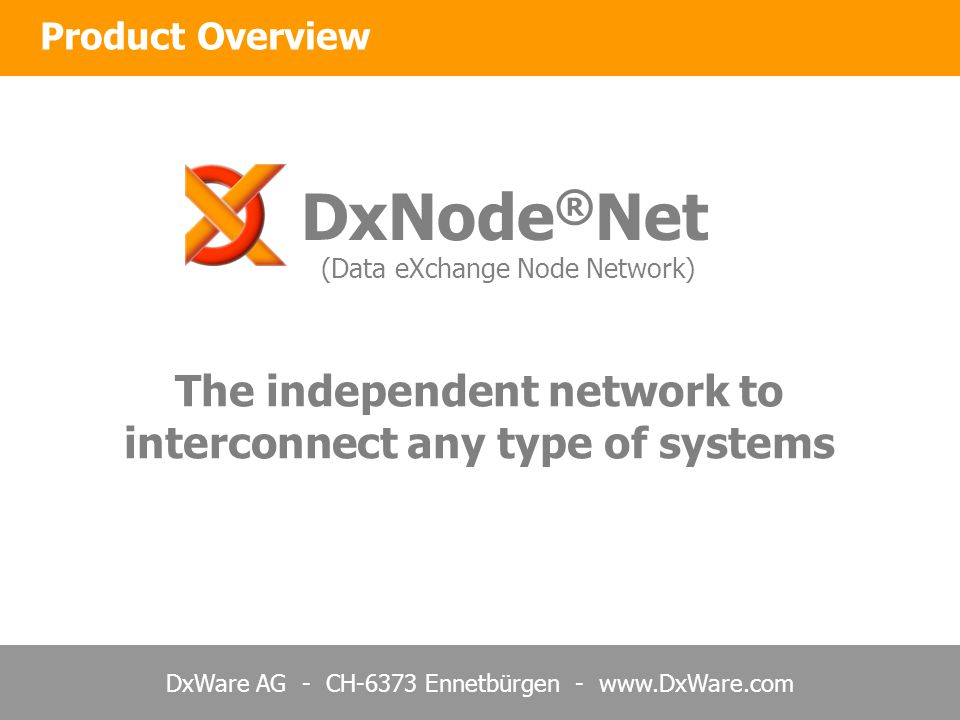 The independent network to interconnect any type of systems
