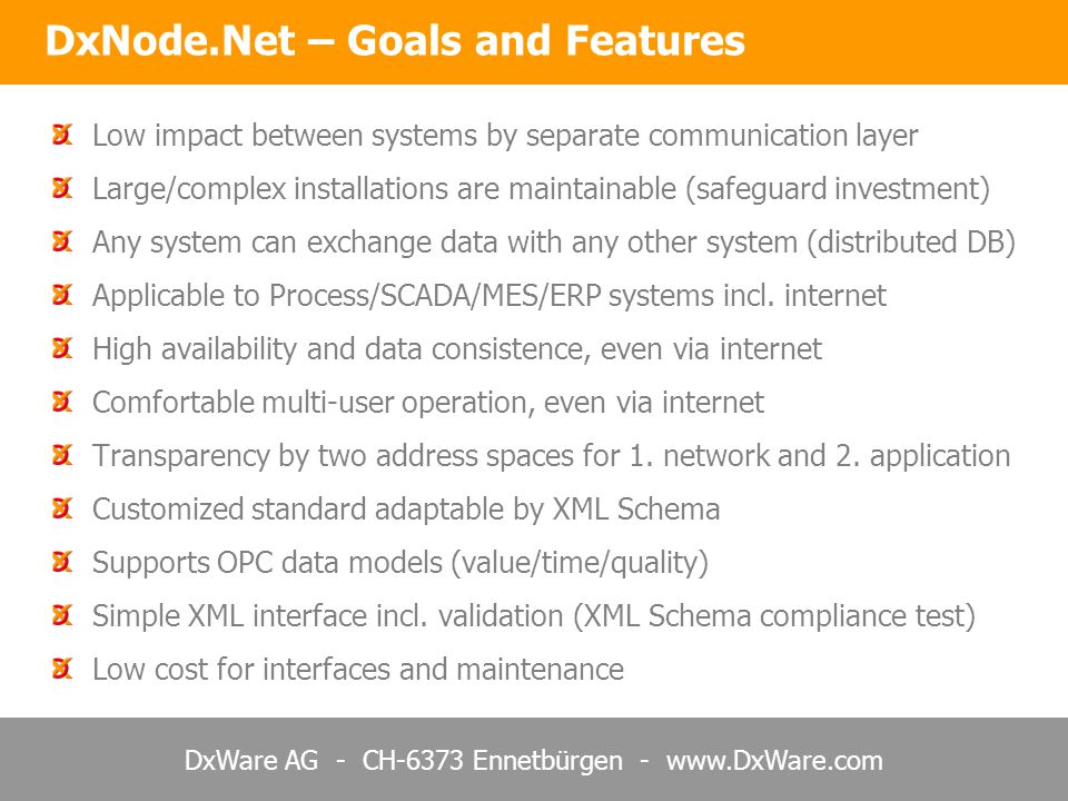 DxNode.Net – Goals and Features