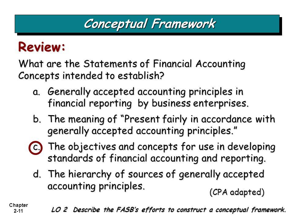 Review: Conceptual Framework