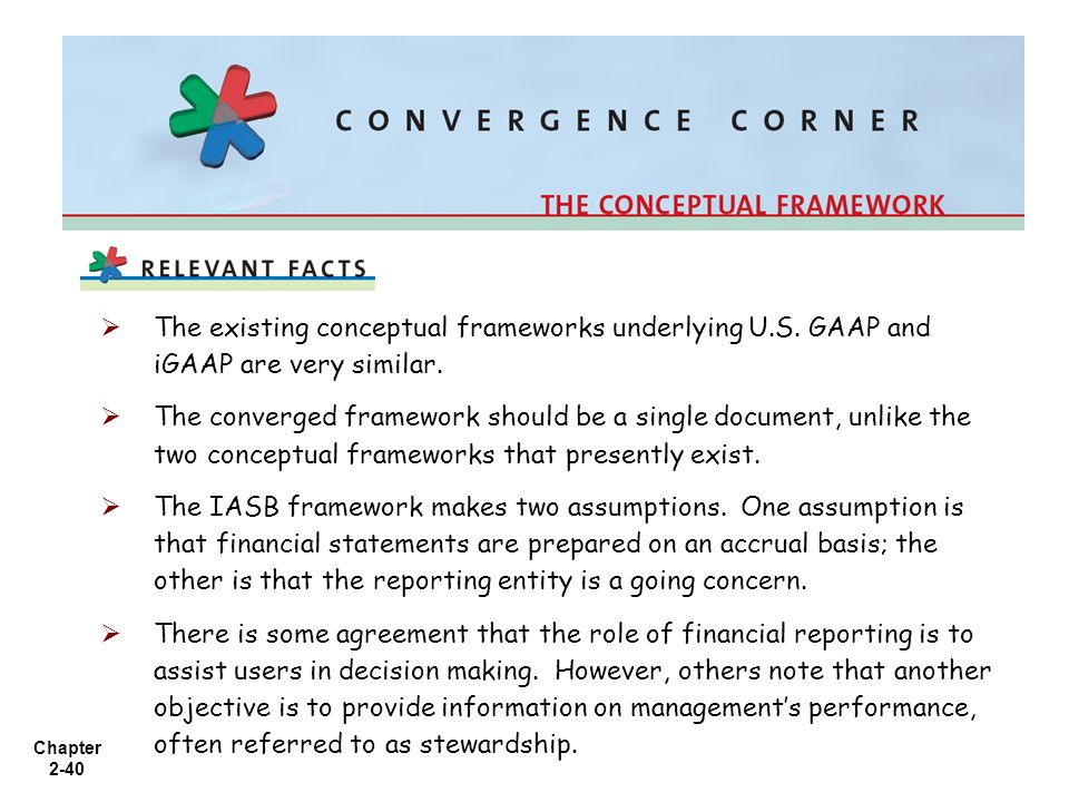 The existing conceptual frameworks underlying U. S