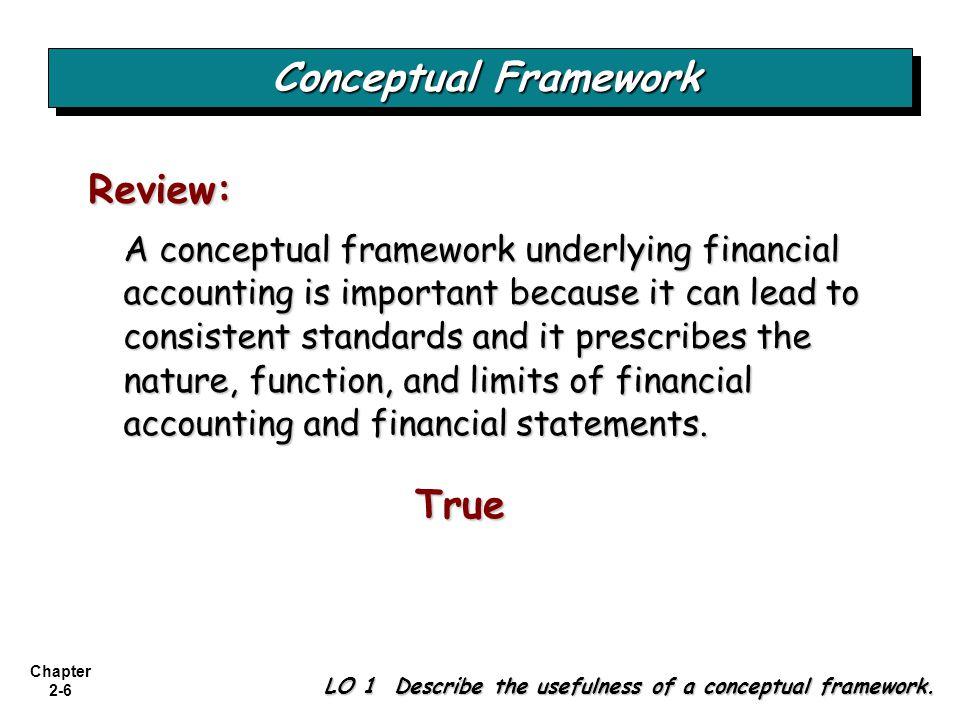 Conceptual Framework True