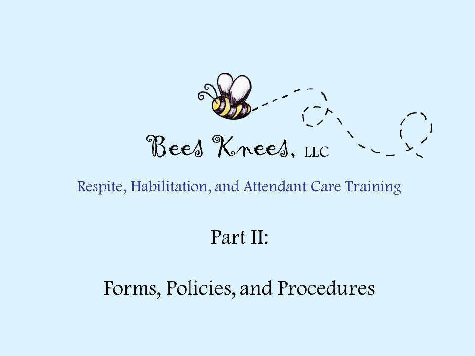 Respite, Habilitation, and Attendant Care Training