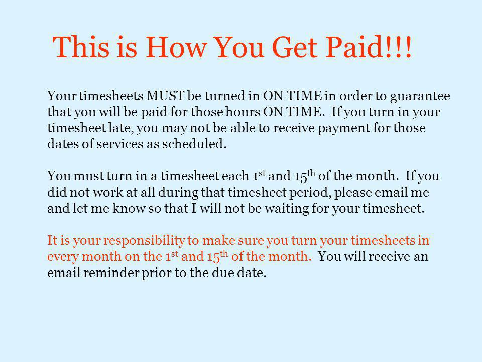 This is How You Get Paid!!!