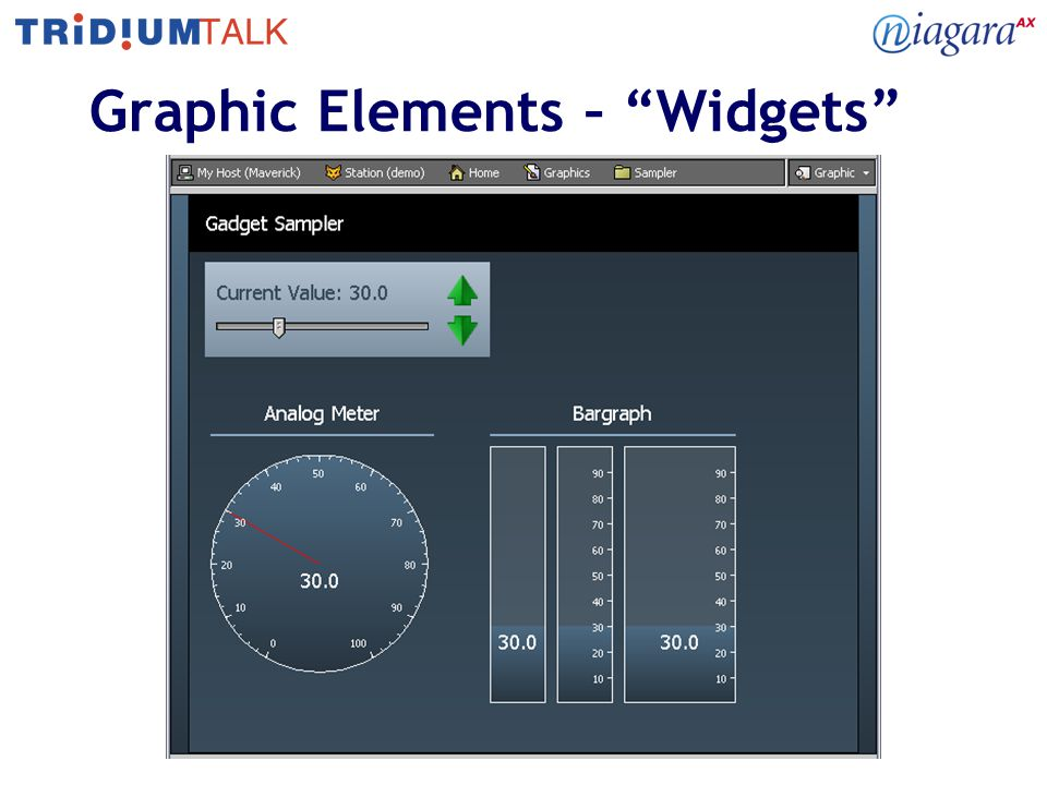 Graphic Elements – Widgets