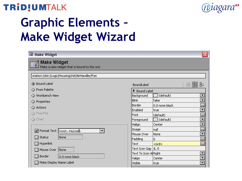Graphic Elements – Make Widget Wizard