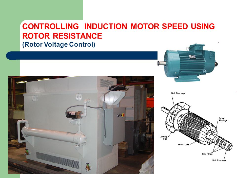 Ac drives there are two type of ac motor drives ppt for Induction motor speed control