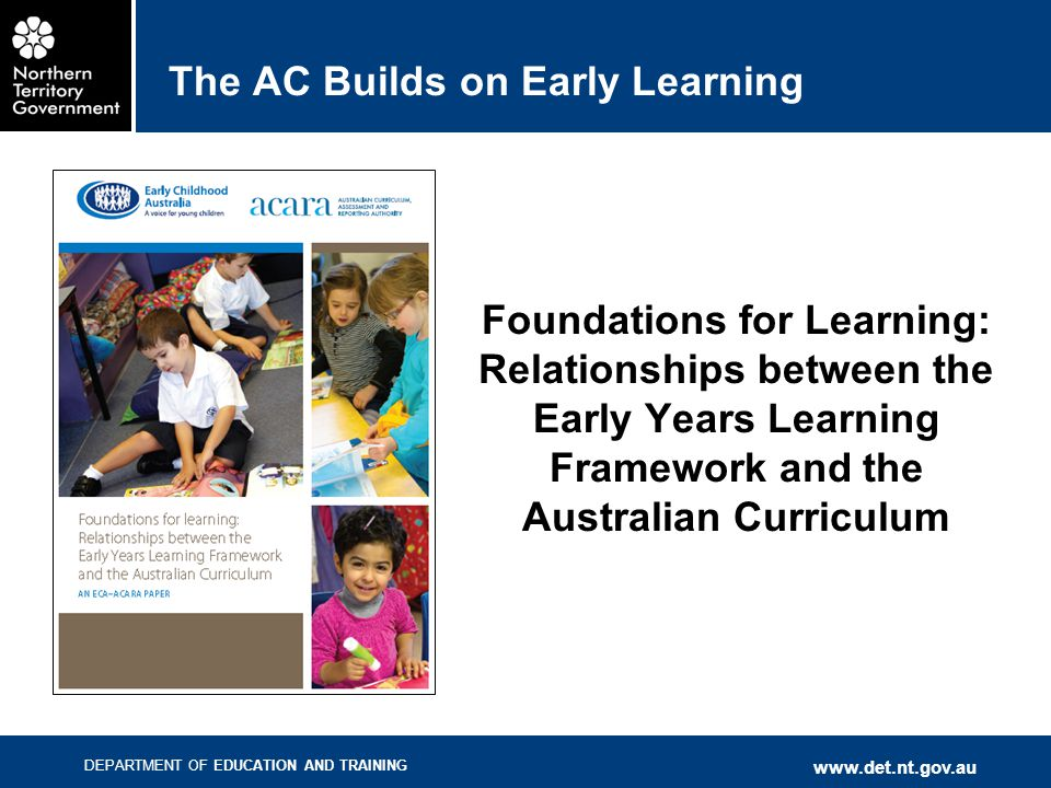 The AC Builds on Early Learning