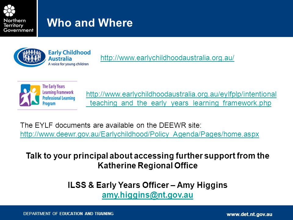 ILSS & Early Years Officer – Amy Higgins