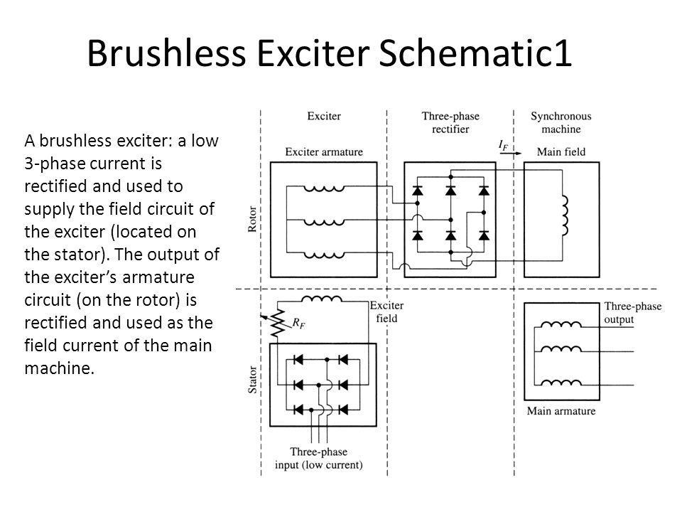 Brushless Exciter Schematic1