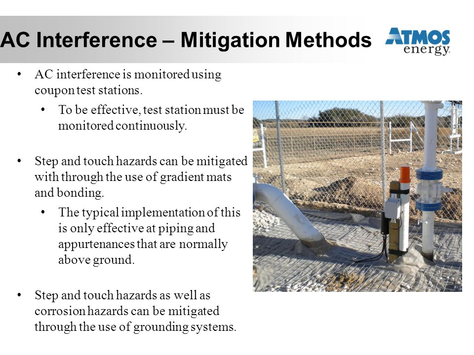 AC Interference – Mitigation Methods
