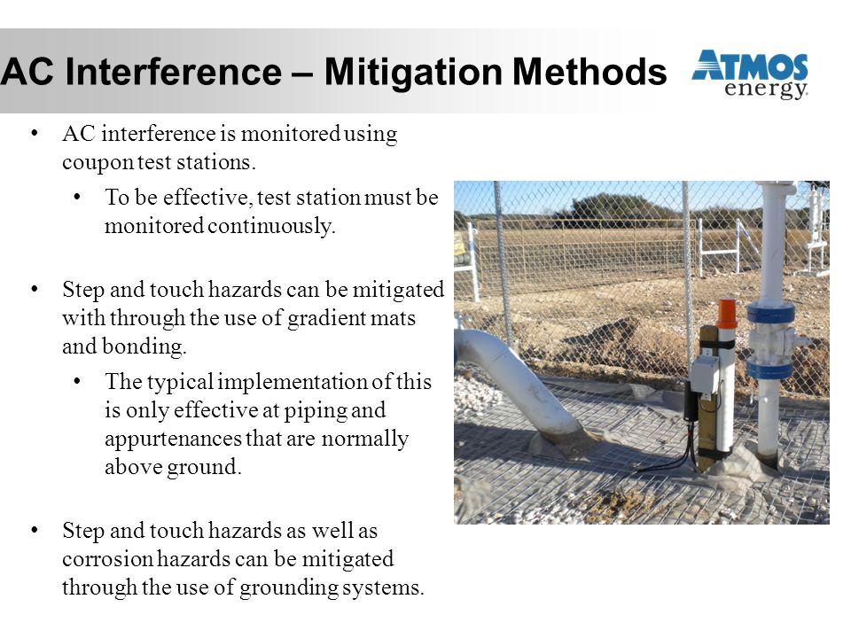 AC Interference – Mitigation Methods