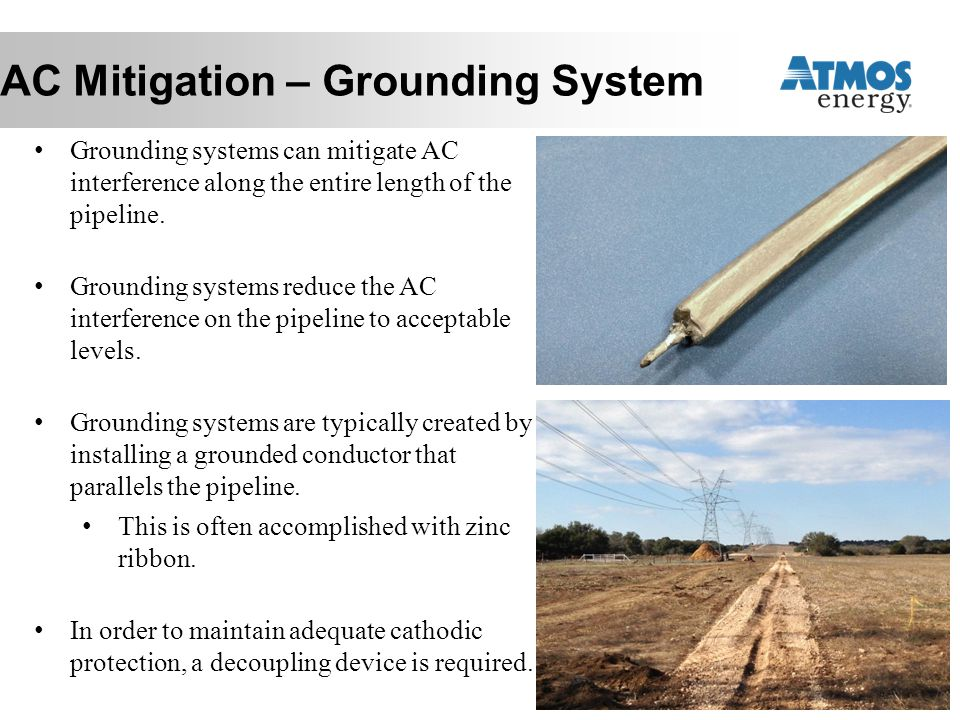 AC Mitigation – Grounding System