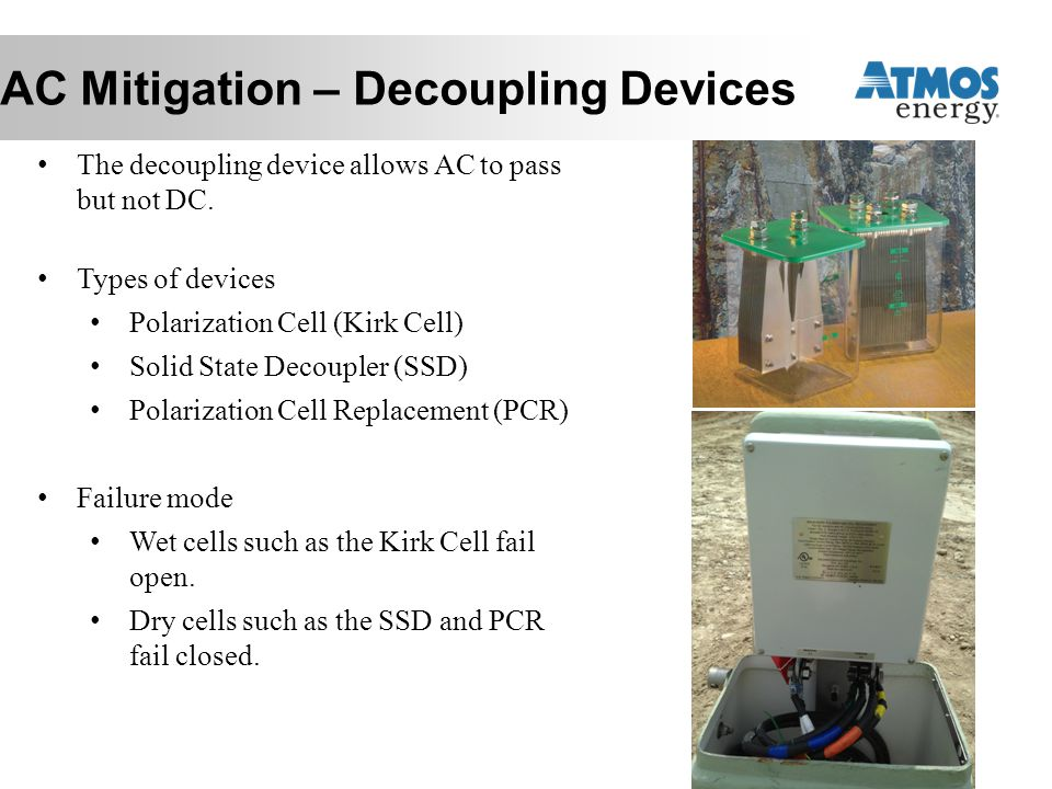 AC Mitigation – Decoupling Devices