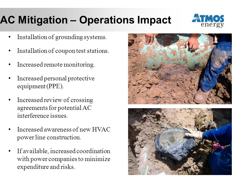 AC Mitigation – Operations Impact